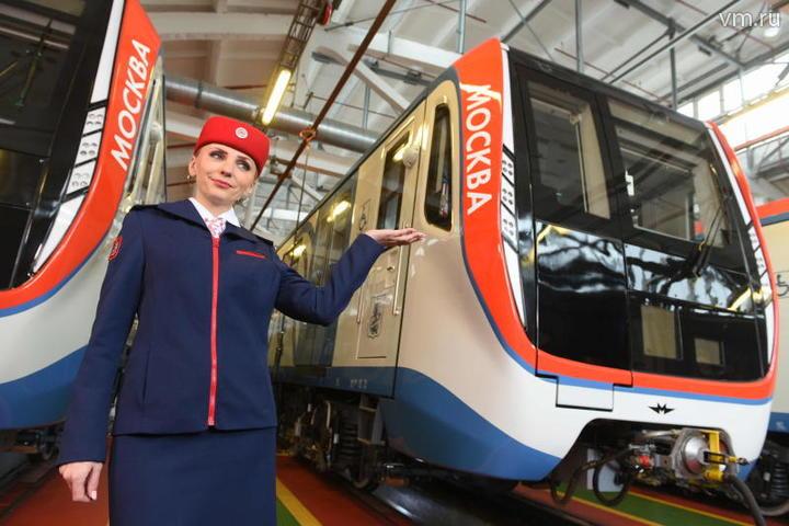 Более 60 поездов нового поколения запустили в Московском метрополитене