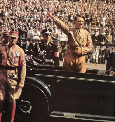 Адольф Гитлер и Генри Форд.