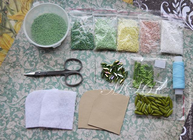 Красивая вышивка бисером края изделия вышивка,рукоделие,своими руками