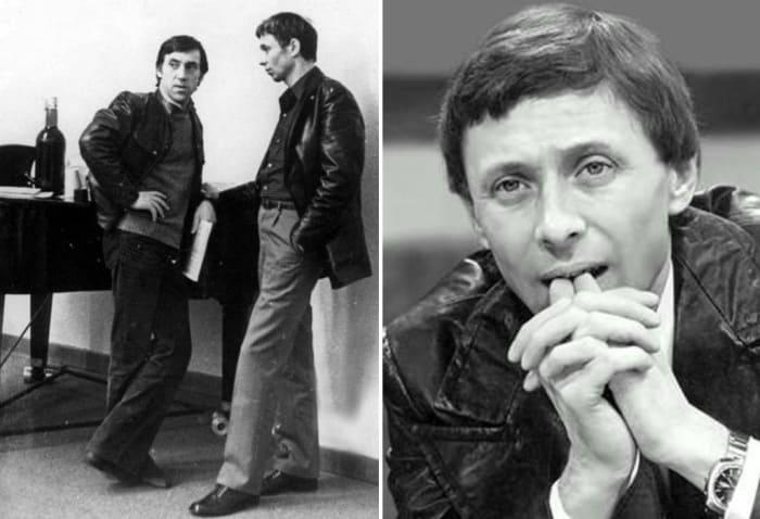 Владимир Высоцкий и Олег Даль, 1974   Фото: echo.msk.ru, kino-teatr.ru