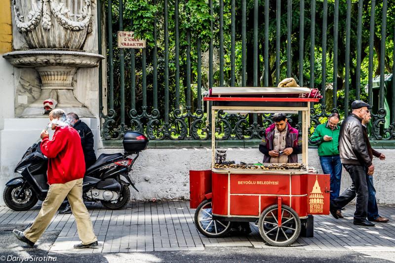 Еда в Стамбуле, уличная и ресторанная