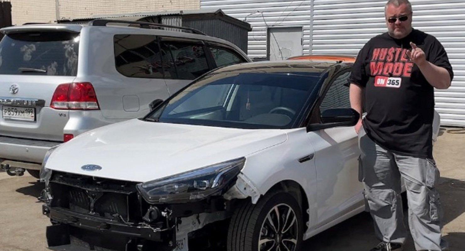 Для тех, кто верит в Бога: «Клубный сервис» разобрал JAC J7 казахской сборки Автомобили