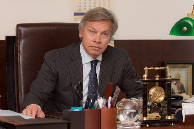 Пушков прокомментировал драку украинского политолога и ведущего НТВ