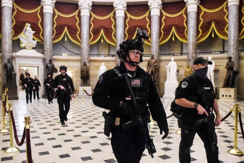 Капитолий пал! В США новая демократическая реальность геополитика