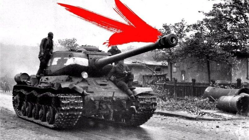 Вот зачем на ствол советских танков вешали ведро