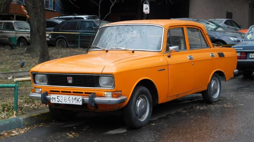 Москвич-2138 1976-1983 последний автомобиль с двигателем 408