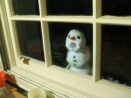 Невиданные снеговики