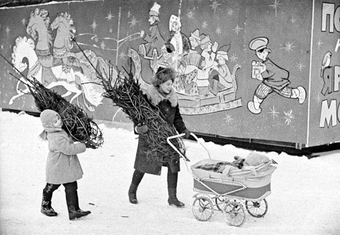 Новый год в Советском Союзе