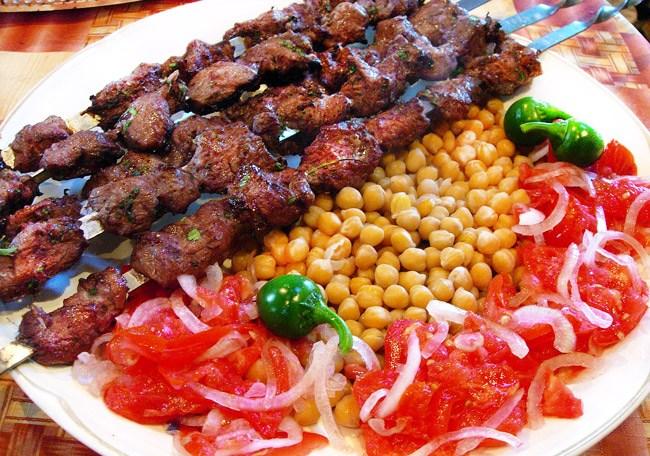 Шашлык с использованием кляра кулинария,мясные блюда,шашлык