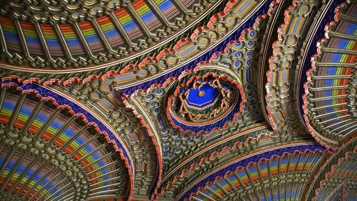 10 самых прекрасных потолков в мире