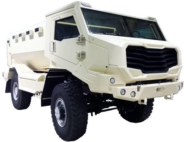 «Универсальная боевая платформа»: первый белорусский MRAP