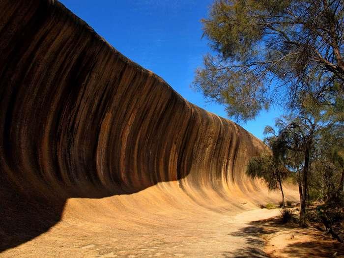 Поразительная каменная волна в Австралии Австралия