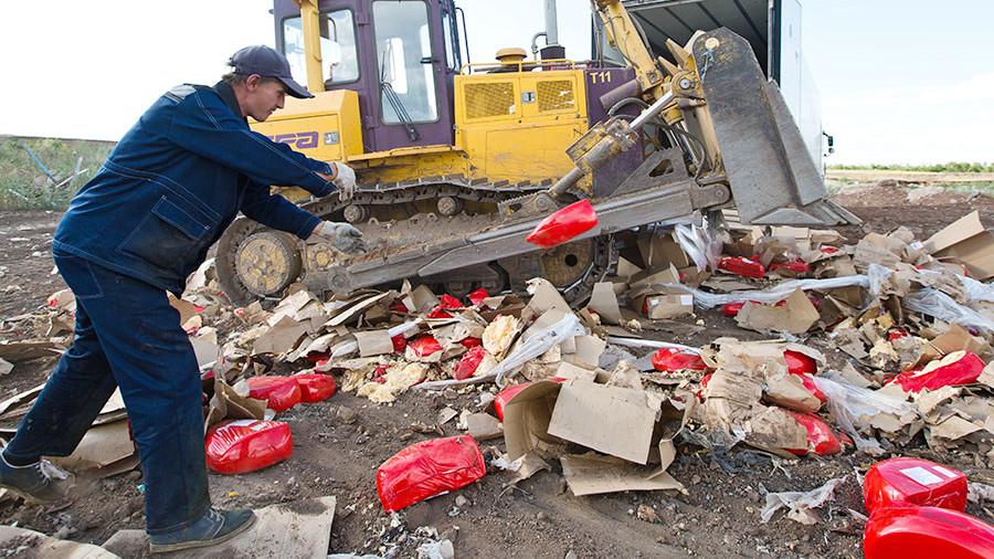 Что такое 167 кг для миллионника: Полтора центнера продуктов уничтожено в Петербурге
