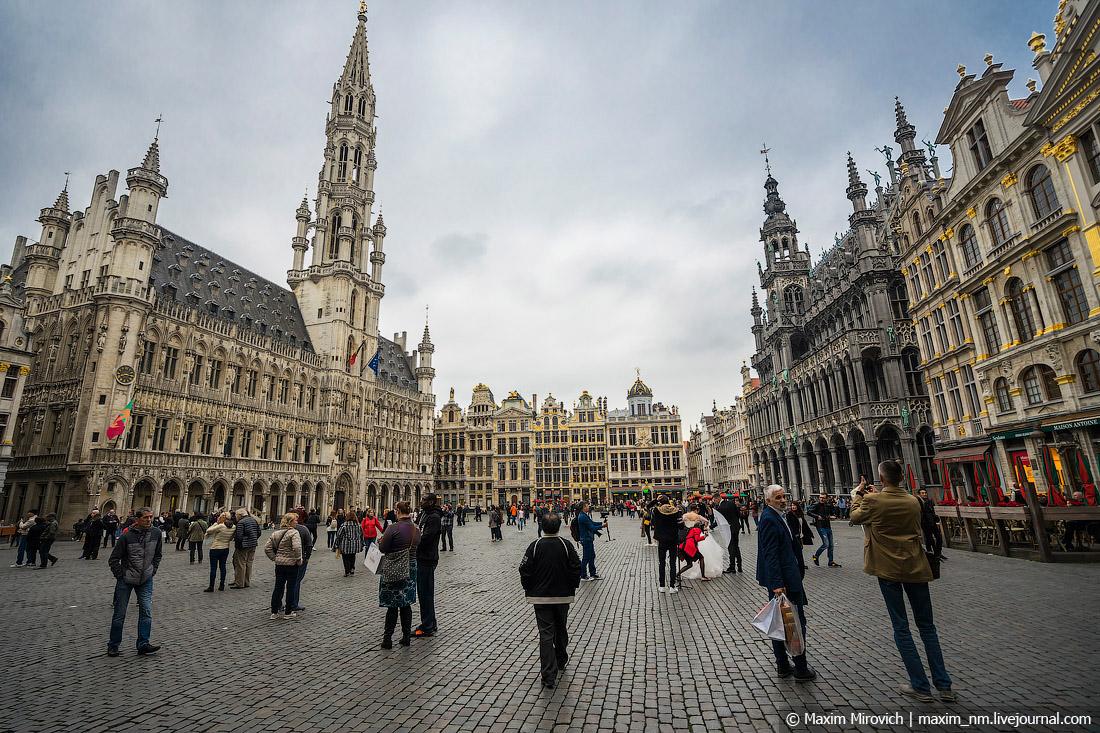 Брюссель. На что похожа столица Евросоюза.