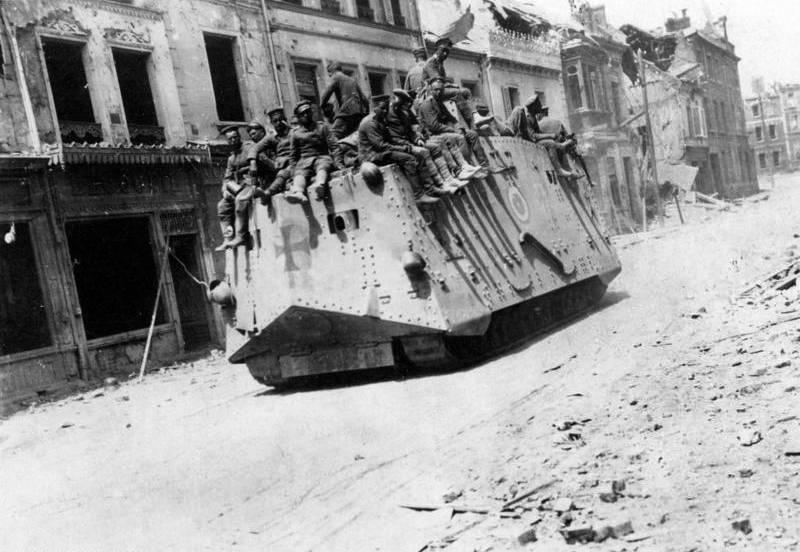Весеннее наступление германс…