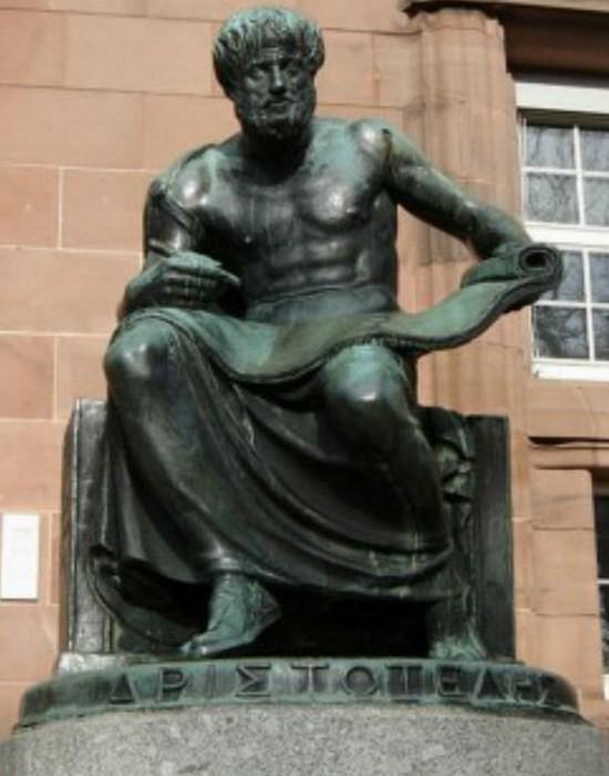 Памятник Аристотелю. / Фото:list25.com
