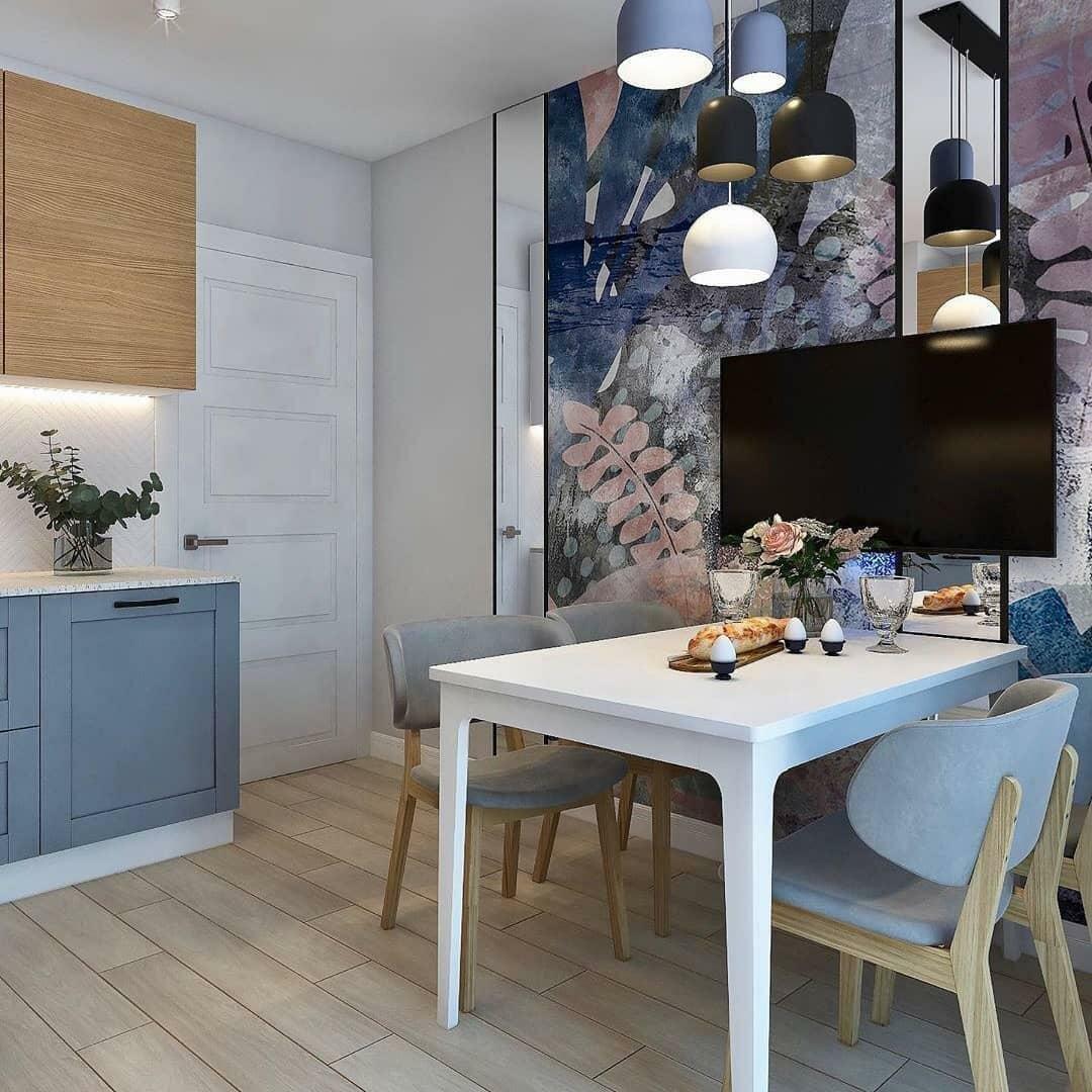 Шикарная кухня с выходом на балкон – просто мечта хозяйки идеи для дома,интерьер и дизайн