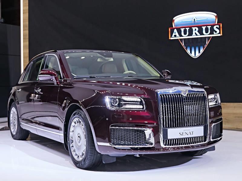 Aurus пойдет в серию в 2020 году