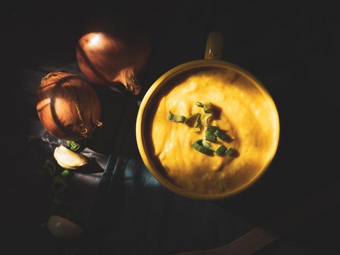 Суп из печеных овощей: лучшая идея для фигуры