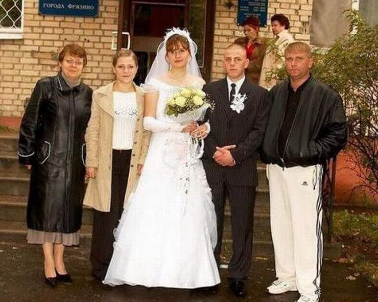 Дикие сельские свадьбы