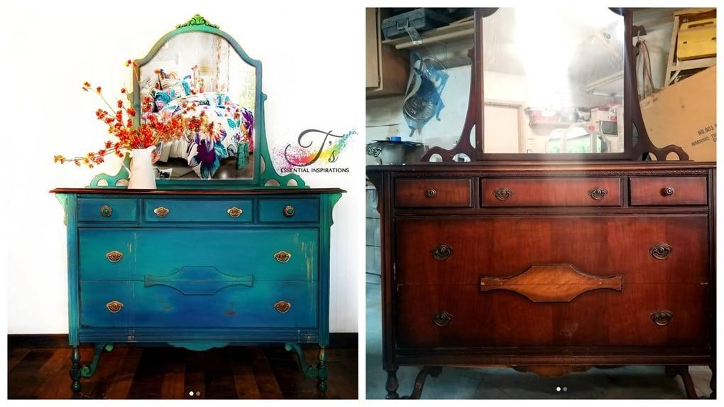 Нетривиальная переделка старой мебели: идеи и их воплощение