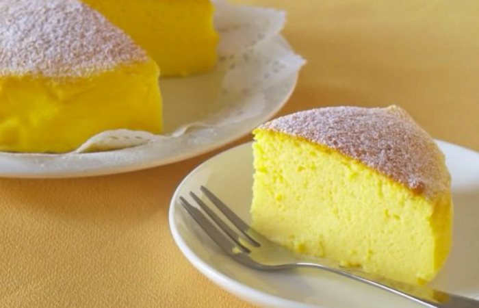 Японский торт из трех ингредиентов и без муки, который покорил весь мир