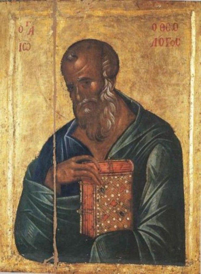 Картинки по запросу иоанн богослов икона