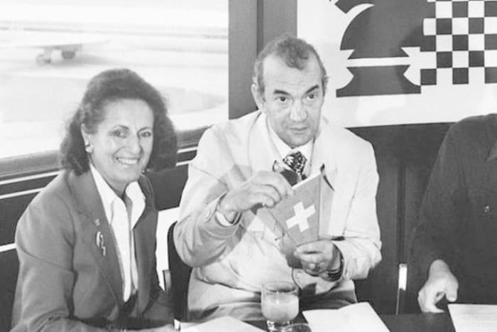 Виктор Корчной с женой Петрой в 1978 г.   Фото: dobrocom.info