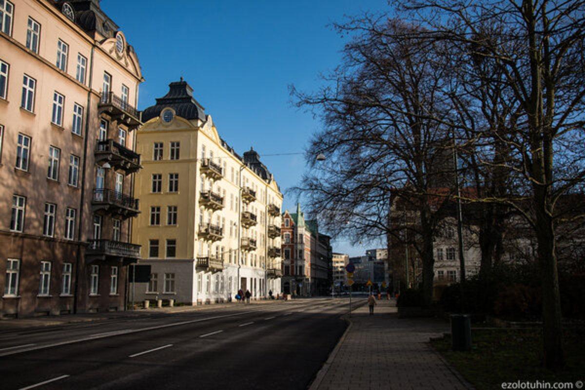 Как реально выглядит самый опасный город Швеции, по мнению Первого канала
