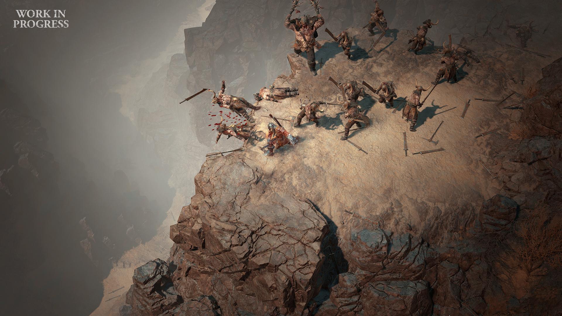 Интерфейс, геймпад на ПК и противники — свежие детали Diablo IV diablo iv,анонсы,геймплей,Игры