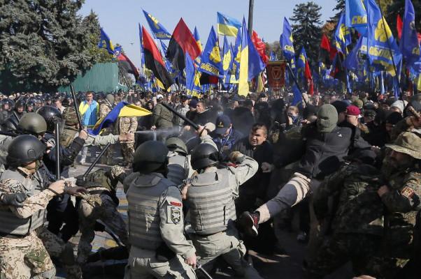 Протесты и беспорядки в цент…