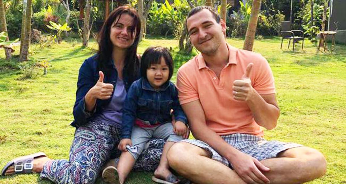 Вьетнамская девочка была спасена женщиной из Украины