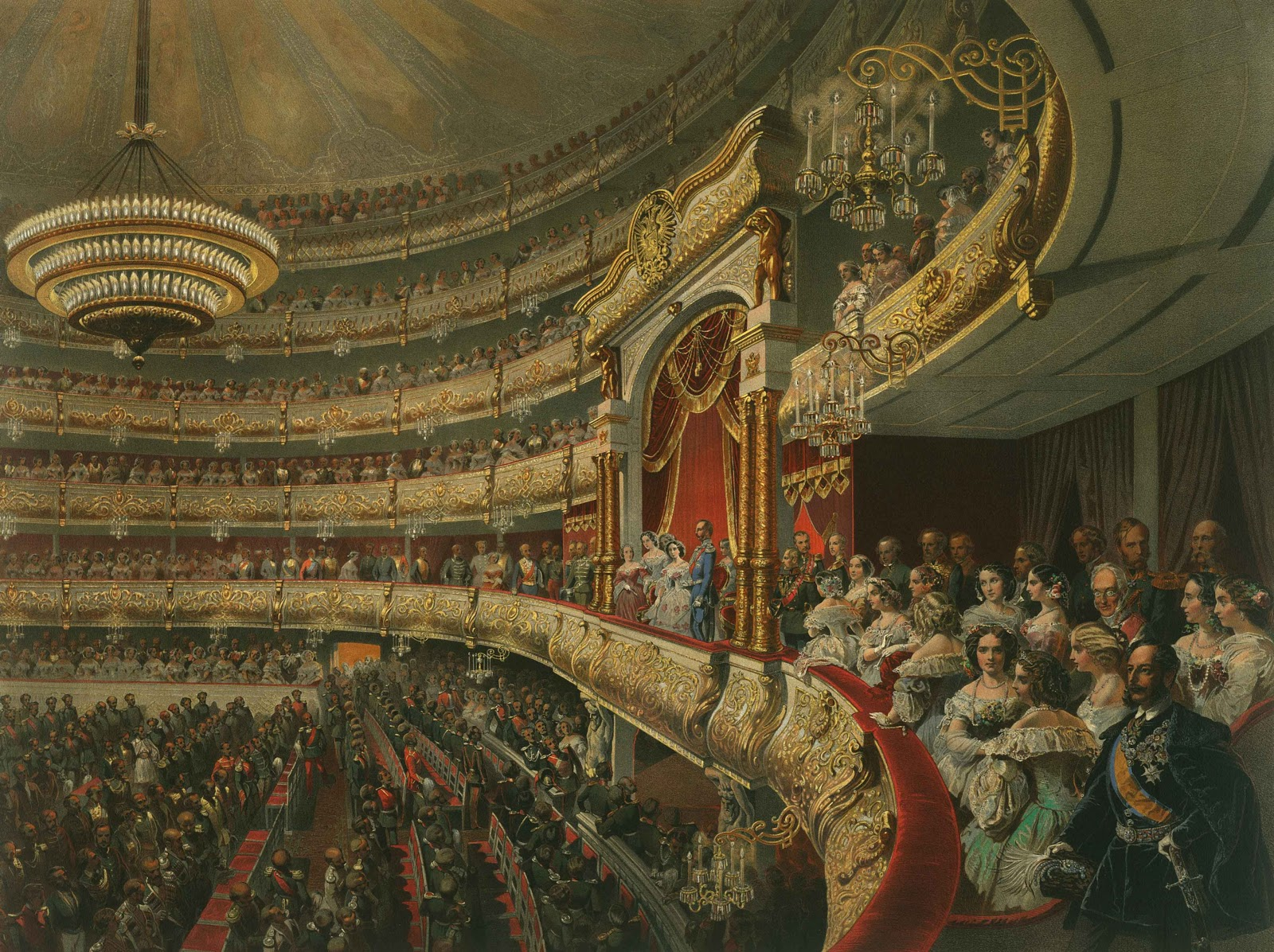 Академик Михай Зичи - придворный живописец русских императоров