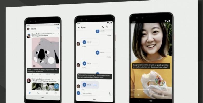 Представлена операционная система Android 10 android,ОС