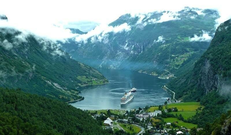 Нордфьорд (Nordfjord) путешествия, факты, фото