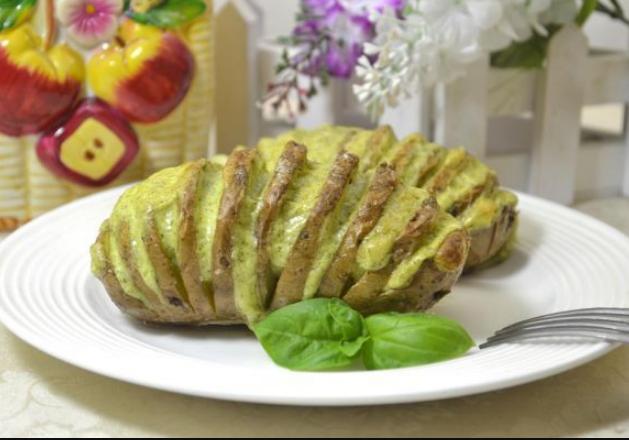 Великолепный картофель Хессельбек - пальчики оближешь