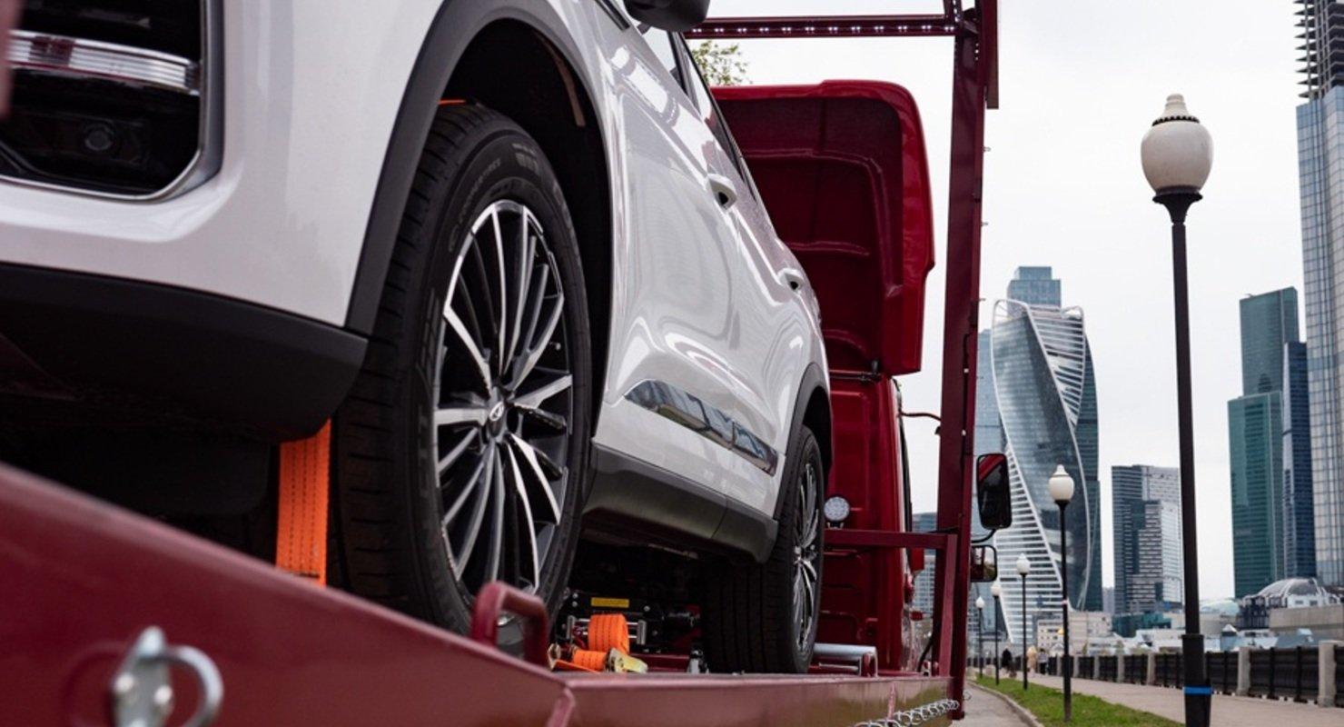 Компания Chery сообщила о VIP-доставке Tiggo 8 Pro при бронировании онлайн Автомобили