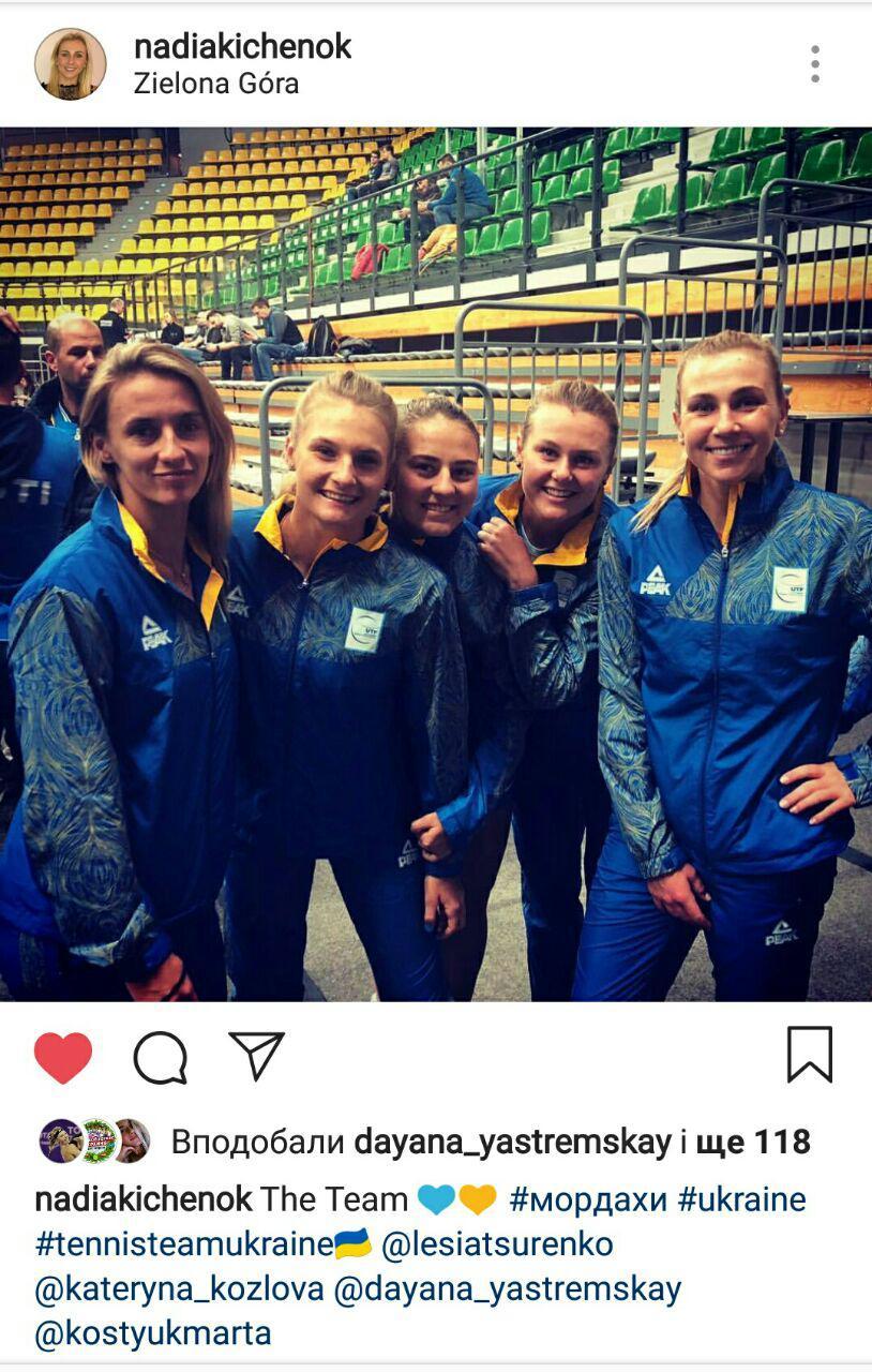 Украинские теннисистки проде…
