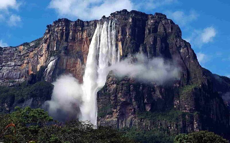 Места планеты, в которых почему-то прекратили действовать законы физики аномалии,водопады,горы,камни,оптическая иллюзия