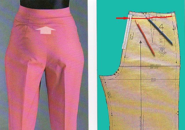Дефекты посадки брюк переделки,посадка брюк,рукоделие,своими руками