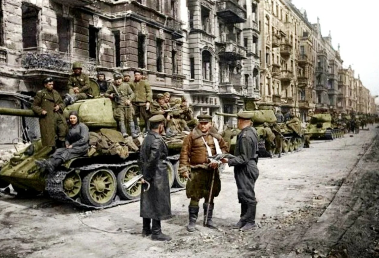 Последний месяц войны в Европе история
