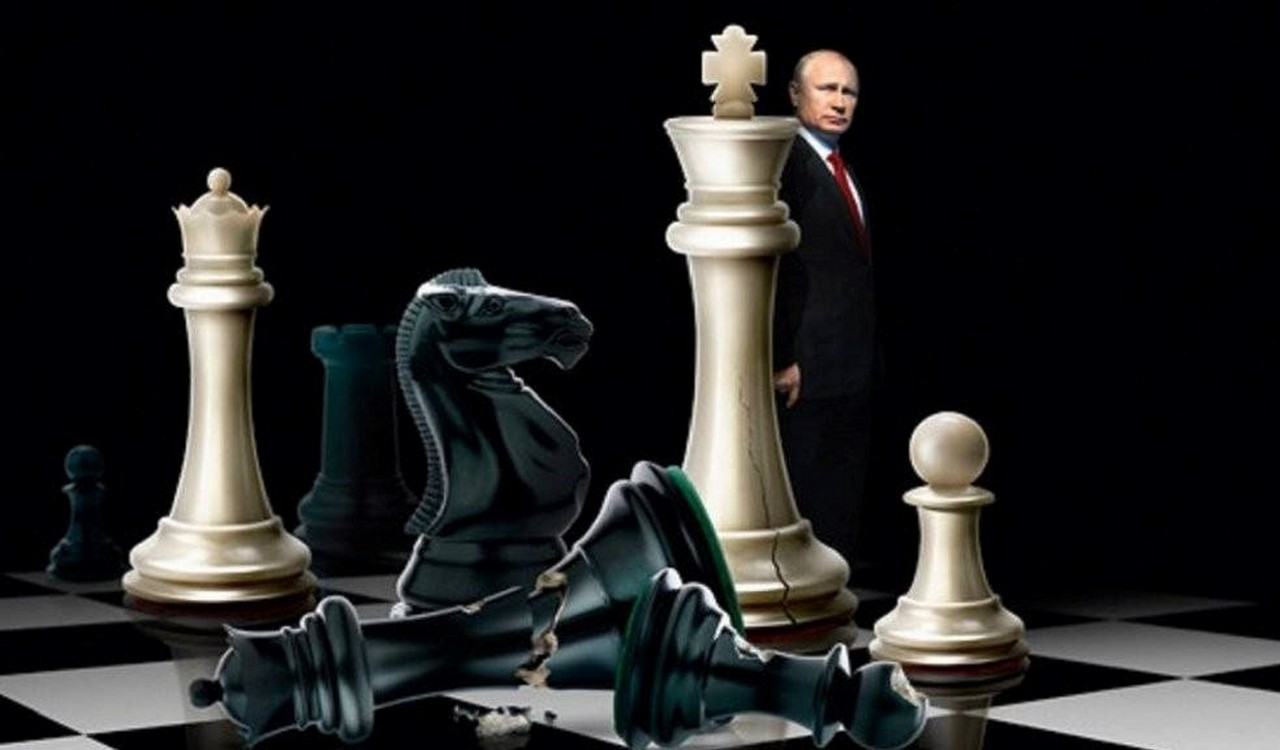 Шах и мат, коллективный Запад геополитика