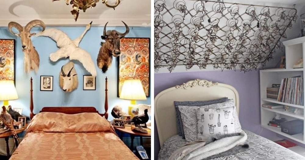 15 спален с таким трешовым дизайном, что уснуть там вряд ли получится