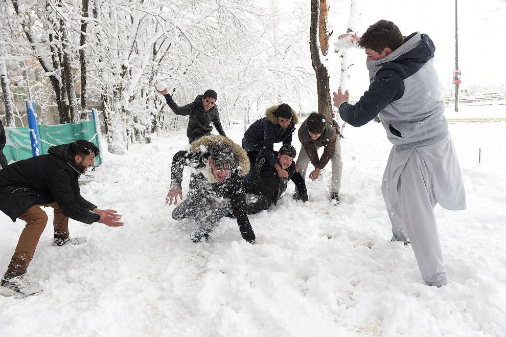 Маленькие радости. Снегопад в Кабуле