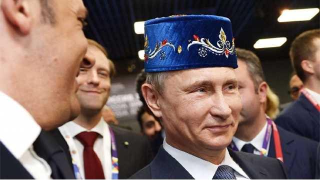 """""""Путин — на самом деле турок. Его настоящее имя — Вели Демир Потин"""""""
