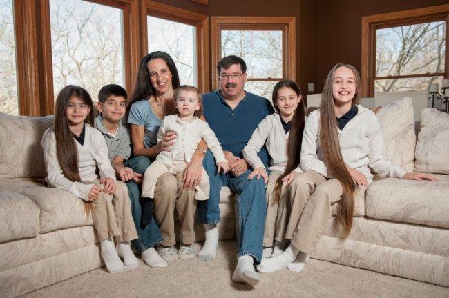 Семья Рапунцель из США (12 фото)