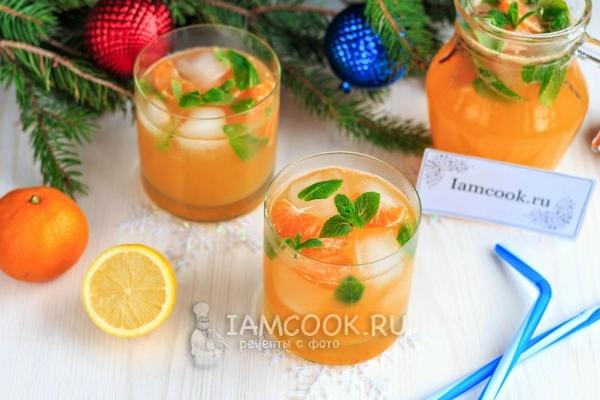 Безалкогольные напитки. Мандариновый лимонад