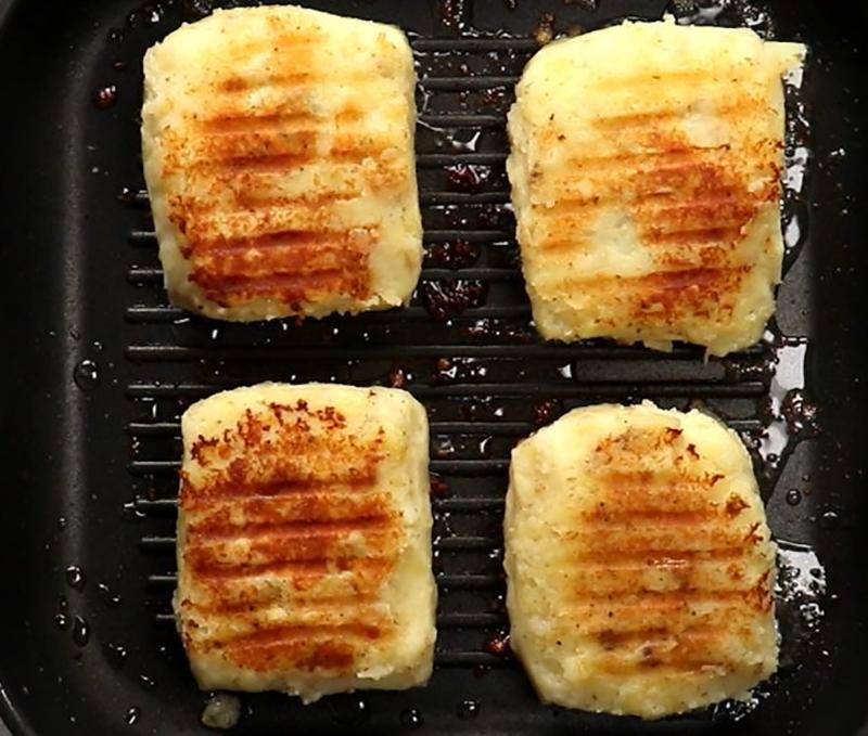 обжаривание бутербродов