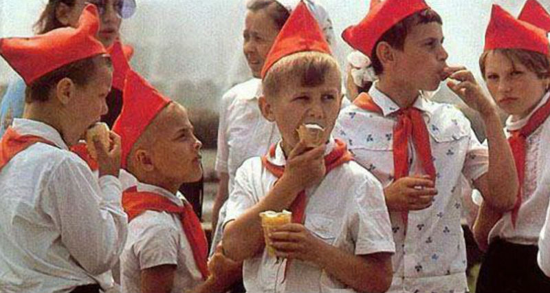 Советское мороженное - в чем…