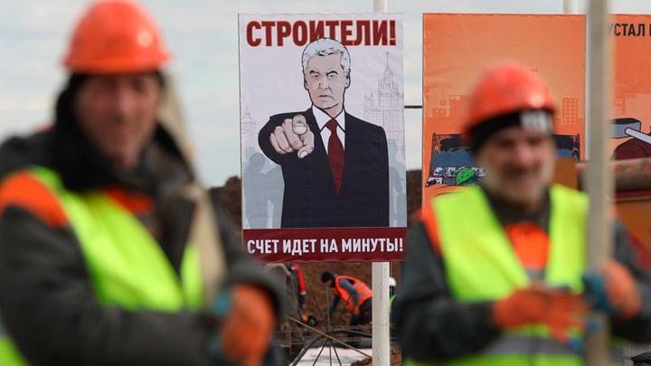 В чём секрет? Лужкова за реновацию хотели на руках носить, а Собянина хотят... выносить россия